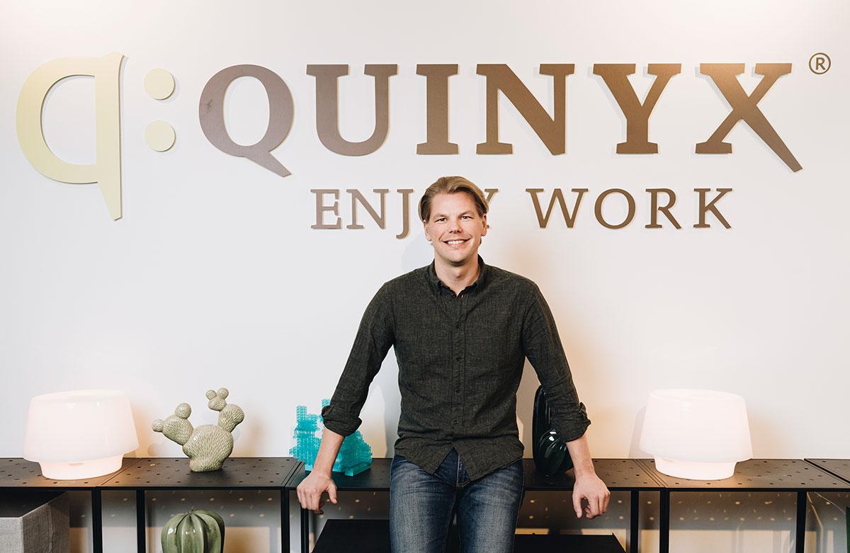 Fremtiden for Quinyx med Erik Fjellborg