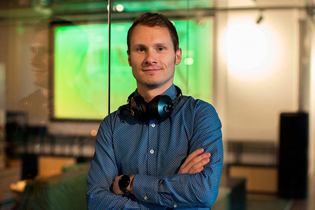 Carl Geijer presenterer den seneste funksjonaliteten
